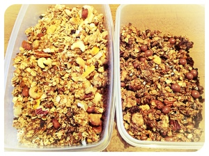 Granola - two ways